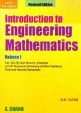 Introduction to Engineering Mathematics - Vol. 1 (U.P.T.U)