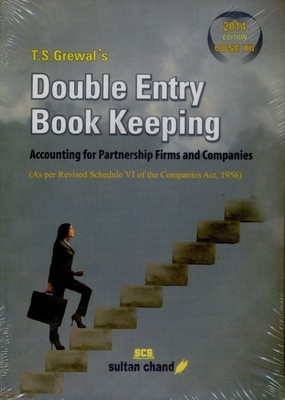 Double Entry Book Keeping Cbse Xi by Grewal