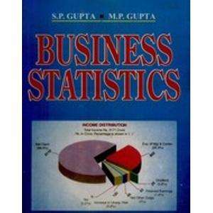 Business Statistics                          S.P. Gupta | Pustakkosh.com