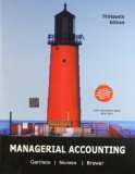 Managerial Accounting by Ray Garrison
