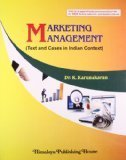 Marketing Magement Text  Cases In Indian Context by K. Karukaran