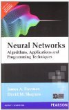 Neural Networks Algorithms Applications and Programming Techniques 1e by FREEMAN