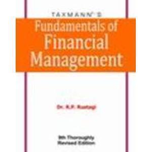 Fundamentals of Financial Management                        Paperback  R.P. Rustagi (Author)| Pustakkosh.com