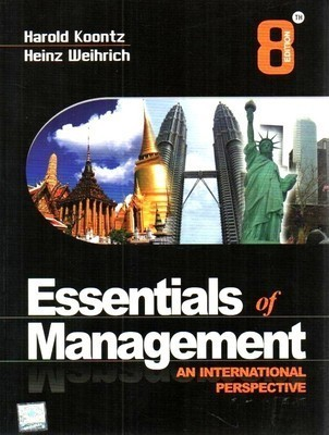 Essentials For Management  An International Perspective by Harold Koontz
