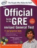 The Official Guide to the GRE Revised General Test with CD-ROM 2nd Edition Old Edition by N/A Educational Testing Service
