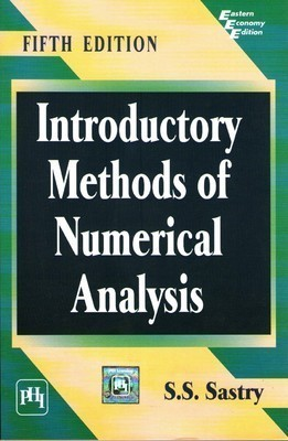 Introductory Methods of Numerical Analysis                        Paperback by Sastry S.S (Author)| Pustakkosh.com