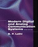 Modern Digital and Analog Communications Systems The Oxford Series in Electrical and Computer Engineering by B. P. Lathi