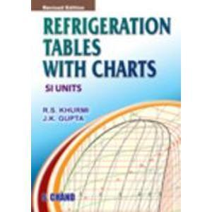 REFRIGERATION TABELES WITH CHARTS
