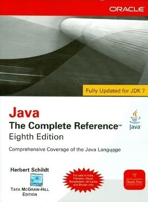 Java The Complete Reference 8th Edition by Herbert Schildt