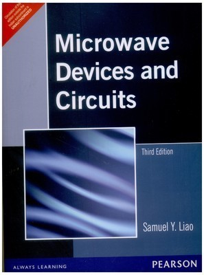 Microwave Devices and Circuits 3e                        Paperback by LIAO (Author)| Pustakkosh.com