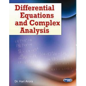 Differential Equations and Complex Analysis 4th Edition by Hari Arora