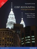 Cost Accounting A Managerial Emphasis by Charles T. Horngren