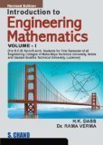 Introduction to Engineering Mathematics - Vol. 1 by Dass H.K.