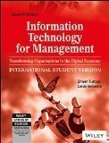 Information Technology for Management Transforming Organizations in the Digital Economy 7ed by Efraim Turban