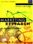 Marketing Research5Ed An Applied Orientation by Malhotra