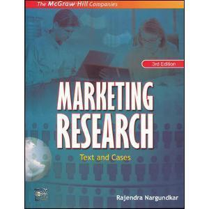 Marketing Research Text and Cases by Rajendra Nargundkar
