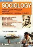 Sociology Principles of Sociology with an Introduction to Social Thoughts                    C.N. Shankar Rao | Pustakkosh.com