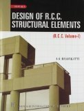 Design of R.C.C. Structural Elements Vol.1 Old Edition by S. S. Bhavikatti