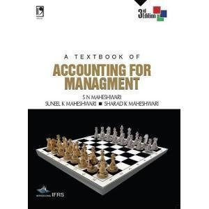A Textbook of Accounting for Management                        Paperback by S N Maheshwari (Author), et al.| Pustakkosh.com