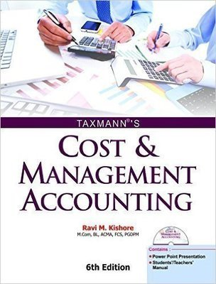 Cost  Management Accounting with CD by Ravi M Kishore