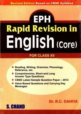 EPH Rapid Revision in English Core by R.C. Dahiya