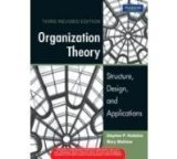 Organization Theory Structure Design and Applications 3e by Robbins / Mathew