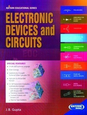 Electronic Devices and Circuits                        Paperback  J.B. Gupta | Pustakkosh.com