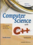 Computer Science With C Set of 2 Volume Sumita Arora| Pustakkosh.com