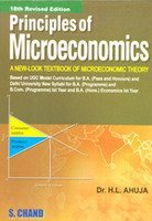 Principles of Microeconomics 21st Revised EditionBy Dr.H.L.AHUJA by H.L. Ahuja