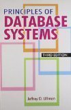 Principles of Database Systems by Jeffrey D Ullman