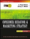 CONSUMER BEHAVIOR  MARKETING STRATEGY by J. Paul Peter
