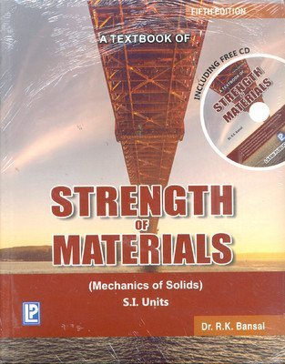 A Textbook of Strength of Materials                        Paperback  R.K. Bansal | Pustakkosh.com