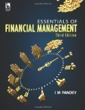 Essentials of Financial Management by I.M. Pandey