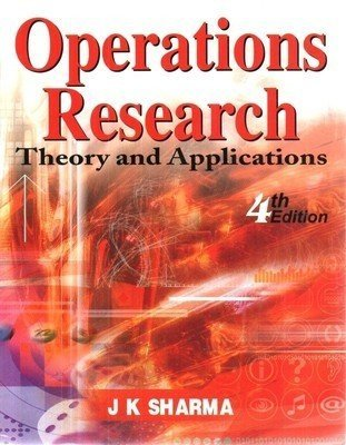 Operations Research Theory and Applications by Sharma