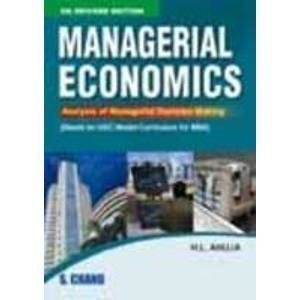 Managerial Economics Old Edition     H L Ahuja| Pustakkosh.com