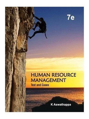 Human Resource Management Text and Cases by Aswathappa