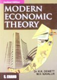 Modern Economic Theory by K K Dewett & M H Navalur