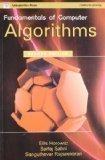 Fundamentals of Computer Algorithmssecond edition by Sahni Horowitz