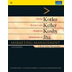 Marketing Management A South Asian Perspective Old Edition by Philip Kotler- Pustakkosh.com