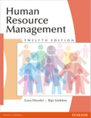 Human Resource Management 12 Edition Old Edition by Gary Dessler