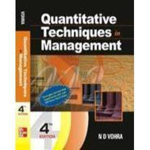 Quantitative Techniques in Management 4th Edition -Second Hand Book