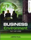 Business Environment Text and Cases by Justin Paul