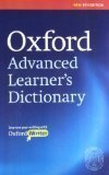 OXFORD ADVANCED LEARNERS DICTIONARY WITH CD PB by a