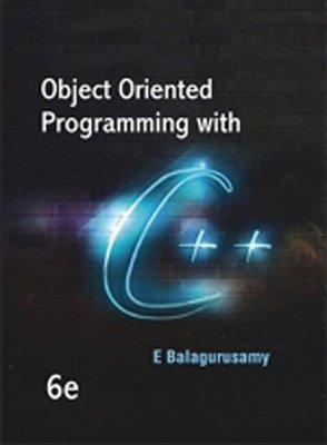 Object Oriented Programming with C                        Paperback Balagurusamy | Pustakkosh.com