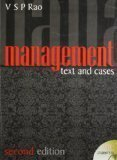 Management Text  Cases 2 by V. S. P. Rao