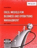 Excel Models for Business and Operations Management 2ed by John F. Barlow