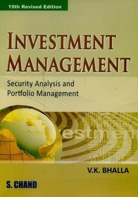 Investment Management by Bhalla V.K.