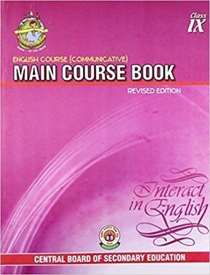 NCERT English Course (Communicative) Main Course Book For Class - 9