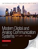 Modern Digital and Analog Communication Systems                        Paperback  B.P. Lathi (Author), Zhi Ding | Pustakkosh.com
