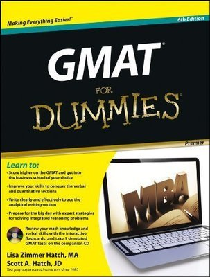 Gmat for Dummies by Scott Hatch